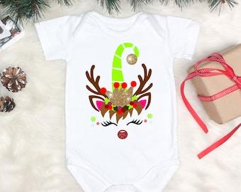 Rudolph Unicorn svg,Unicorn svg,Unicorn Tshirt,Reindeer SVG, Reindeer Face, Christmas Svg Design, Christmas Cut Files, cricut svg