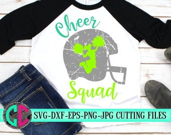 Grunge cheer squad svg, Cheer squad svg, cheerleader svg, football SVG,cheerleading, cheerleader cut file, Cheer Mom SVG, svg for cricut
