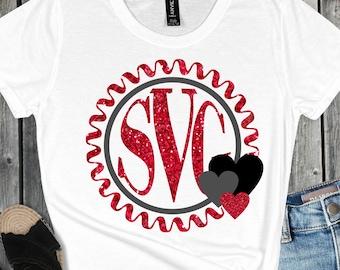 Valentine monogram svg,monogram svg,circle monogram svg,Valentines svg,love svg,Valentine Svg Designs,Valentine Cut File,cricut svg