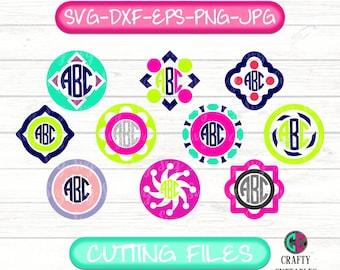 Circle Monogram svg,Monogram svg,monogram bundle svg,circle clipart,circle monogram,monogram circle svg,circle font bundle,bundle svg