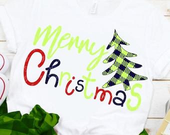 plaid Christmas tree SVG, ChrisTmas svg, Merry Christmas svg, plaid Christmas svg,Christmas tree SVG,Cricut Designs,Silhouette Designs