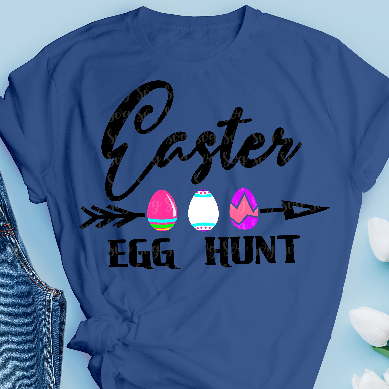 Easter Egg Hunt Svg Dxf Png Eps File For Cutting Machines Cameo Cricut Sublimation Boy Svg Little Boys Svg Svg For Cricut Easter Eggs