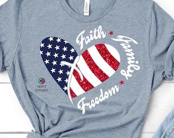 Faith Family Freedom svg,cross svg,American flag svg,flag svg,forth of july svg,monogram svg,merica flag svg,America svg,svg for cricut