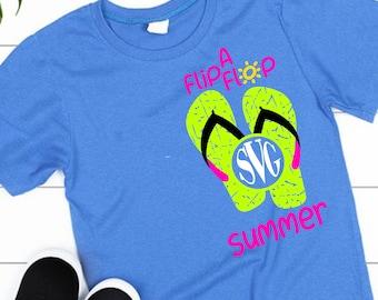 Flip Flop Summer svg,Flip Flop svg,Summer svg,summertime svg,preppy svg,Summer Svg Designs, Summer Cut File, cricut svg