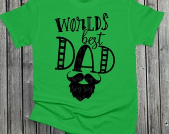 Fathers Day Svg, worlds best dad svg,fathers day svg,Dad svg,daddy svg,Grandpa Svg,Fathers Day Svg Designs, Fathers Day Cut File, cricut svg