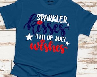 sparkler kisses 4th of july svg, july wishes svg, America svg,png,dxf,July 4th svg,freedom svg,svg for cricut,july 4th clipart,patriotic svg