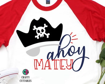 ahoy matte svg,pirate svg,beach svg,boy pirate svg,beach days svg,boy svg,little boy svg,Summer Svg Designs, Summer Cut File, cricut svg