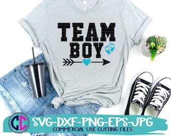 Gender reveal svg, team boy gender reveal svg, baby gender reveal svg, team boy svg, baby reveal svg, baby boy svg, gender reveal Svg Design