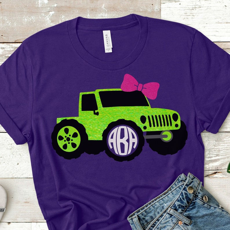 Jeep Monogram Svgjeep Girl Svg Filejeep Svgsjeep With Etsy