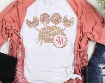 crab monogram svg, crab svg, monogram svg, crabby svg, vacation svg, tshirt svg,Summer Svg Designs, Summer Cut File, cricut svg