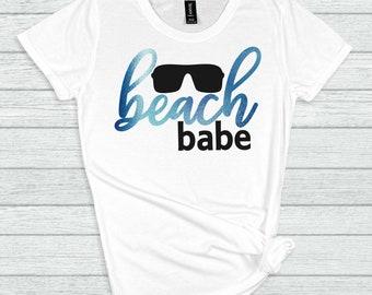 beach babe svg, beach svg, babe svg, beachy svg, vacation svg, tshirt, travel, Summer Svg Designs, Summer Cut File, cricut svg