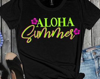 aloha summer svg, beach svg, palm tree svg, summer svg, summertime svg,beach life svg,Summer Svg Designs, Summer Cut File, cricut svg