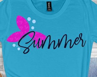 mermaid tail svg,beach svg, summer mermaid svg, summer svg, summertime svg,Summer Svg Designs, Summer Cut File, cricut svg