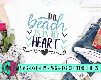 beach is in my heart svg,Summer svg,Summer quotes svg, svg beach Shirts,Tshirt svg,Summer Svg Designs, Summer Cut File, cricut svg