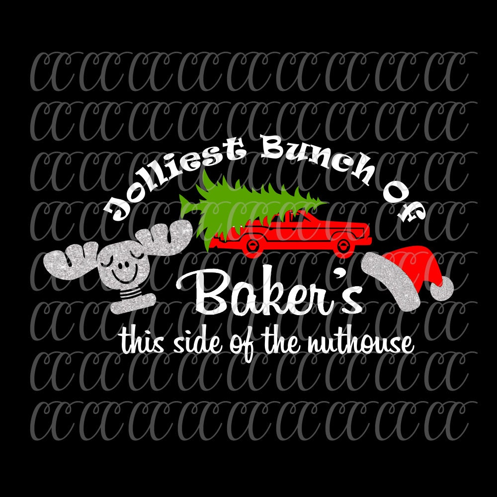 Jolliest Bunch Of svg,Christmas Vacation svg, Christmas svgs,Holiday ...