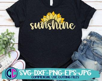 Summer svg, sunflower svg, sunshine sunflower svg, sunflowers svg, summertime svg , Summer Svg Designs, Summer Cut File, cricut svg