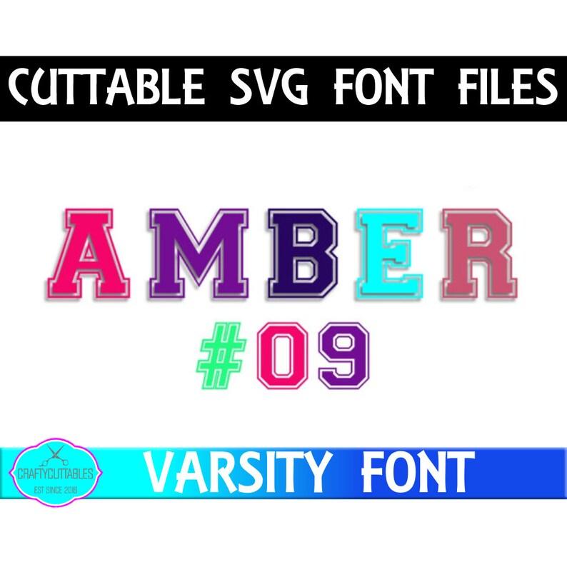 Jersey Letter Font SVG,fonts,Football Jersey Font svg, Varsity Letters,  Football Monogram, Cricut Designs,Silhouette Designs