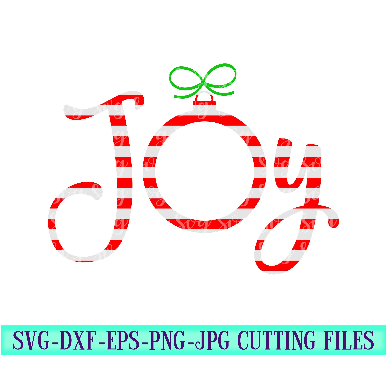 Candy Cane Svg Joy Monogram Svg Monogram Svg Christmas Monogram Svgs Holiday Svg Christmas Cut Files Cricut Svg Svg For Mobile Mobile Svg