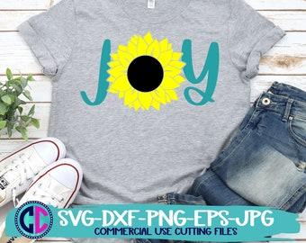 Summer svg, sunflower svg, joy sunflower svg, joy svg, sunflowers svg, summertime svg , Summer Svg Designs, Summer Cut File, cricut svg