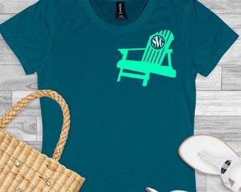 beach chair monogram svg, beach svg, monogram svg, beachy svg, vacation svg, tshirt, Summer Svg Designs, Summer Cut File, cricut svg