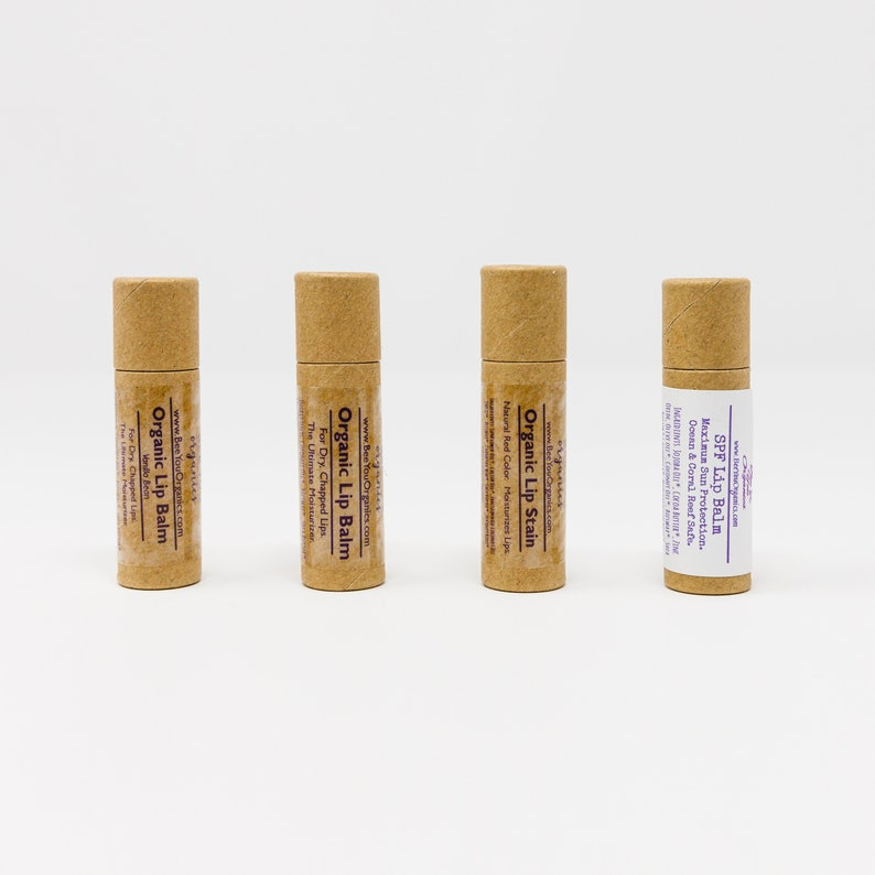 Organic Lip Balm  Dry Chapped Lips  Dry Lips  Cracked Lips image 0