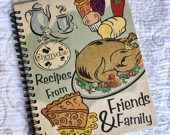 Recipes from Family & Friends by Cherrydale Farms Cookbook | Kitchen | Dining | Vintage