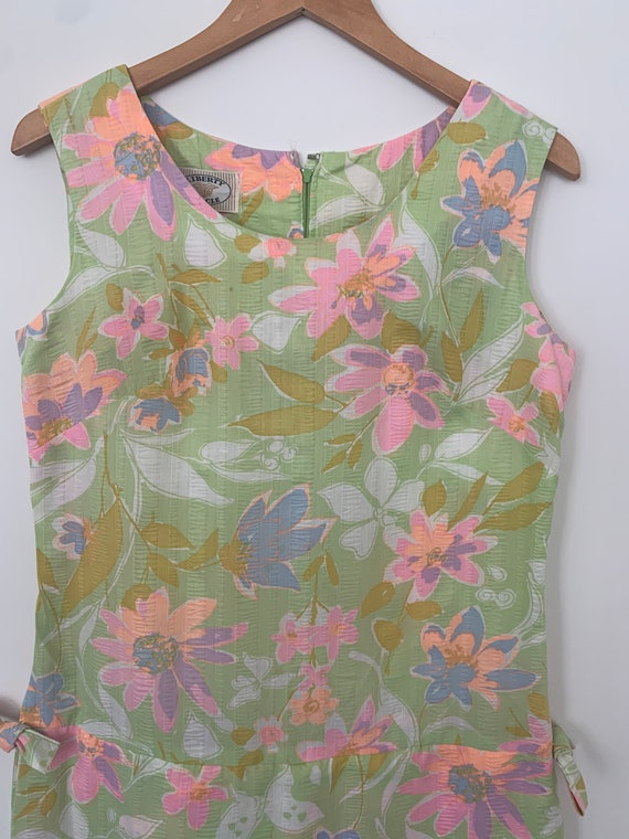 Vintage 60's Liberty Circle Dress / Skort dress /
