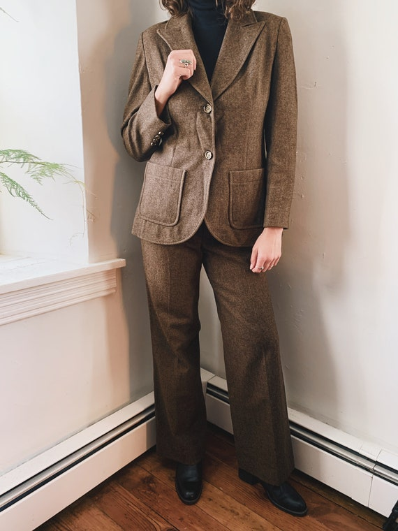 70s Pendleton Wool Two-Piece Suit - image 1