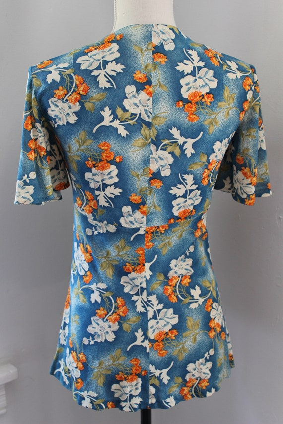 70s South Pacific Matching Two Piece Playsuit - image 6