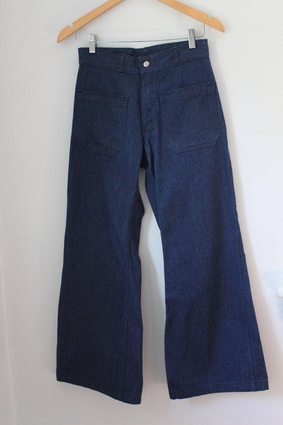 70s Seafarer Bell Bottom Jeans