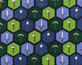Minecraft Tools Axe Pickaxe Shovel Sword Cotton Fabric Springs Mojang Hexes