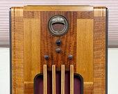 1936 37 Philco 37-670X Bluetooth Converted Console Radio