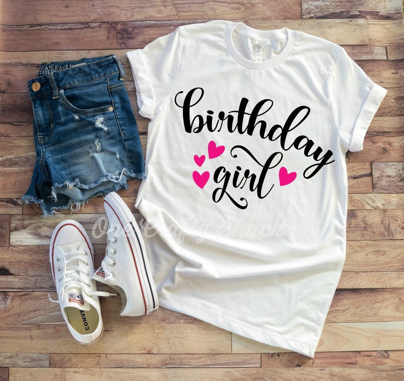 Birthday Shirt Squad Girl Party