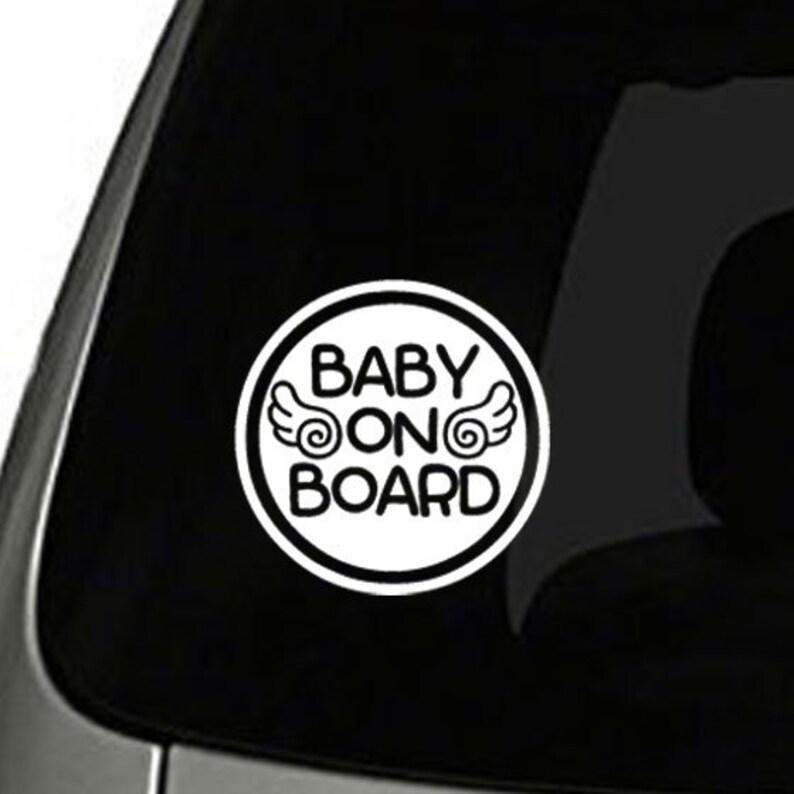 Baby Baby An Bord Zeichen Sicherheit 1