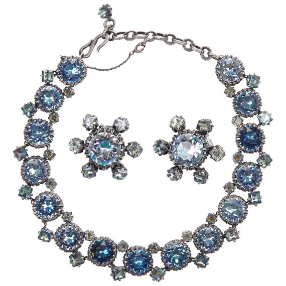1950s Christian Dior Mitchel Maer Necklace & Earri