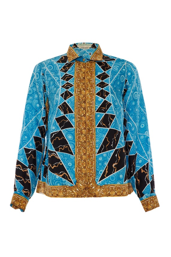 1960/'s silk blouse  Silk blouse 1960