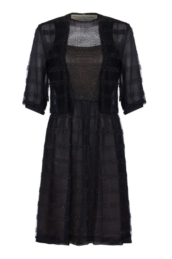 1950s Christian Dior Demi Couture Dress and Jacket
