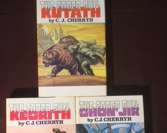 The Faded Sun series by C.J. Cherryh