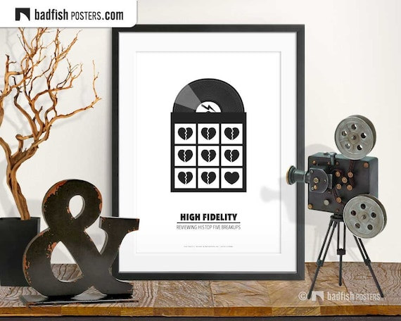 High Fidelity Poster 24in x 36in