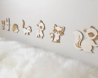 Woodland Animals Wall Decor
