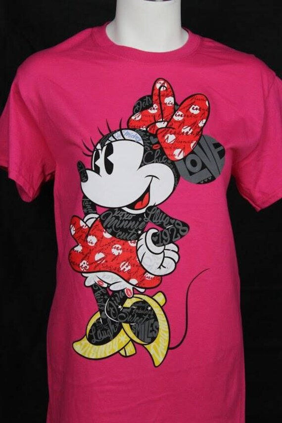 pour Mouse Minnie de femmes T DisneyEtsy shirt Etw0xF