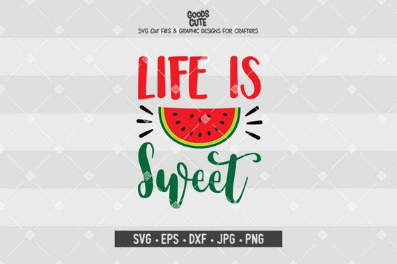 Life Is Sweet Svg Baby Svg Vector File First Birthday Baby Etsy