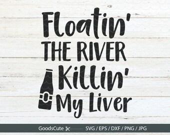 Floating River Svg Etsy