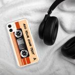 iPhone 11 Pro Max Case - Customizable Text Retro 80s Cassette Tape