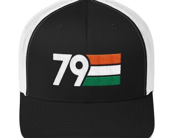 fe669bce689 LIMITED EDITION   1979 Birthday Retro St. Patrick s Day Irish Flag Colors  Trucker Cap (Available only until St. Patrick s Day)