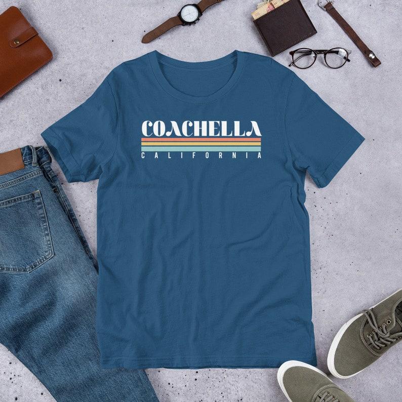 Vintage Coachella California Short-Sleeve Unisex T-Shirt   Etsy
