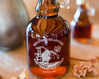 16 oz Pure Vermont Amber Maple Syrup