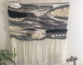 Woven wall hanging tapestry large