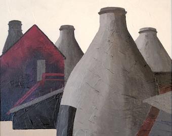 Spode Copeland Works, Bottle Ovens in 1930