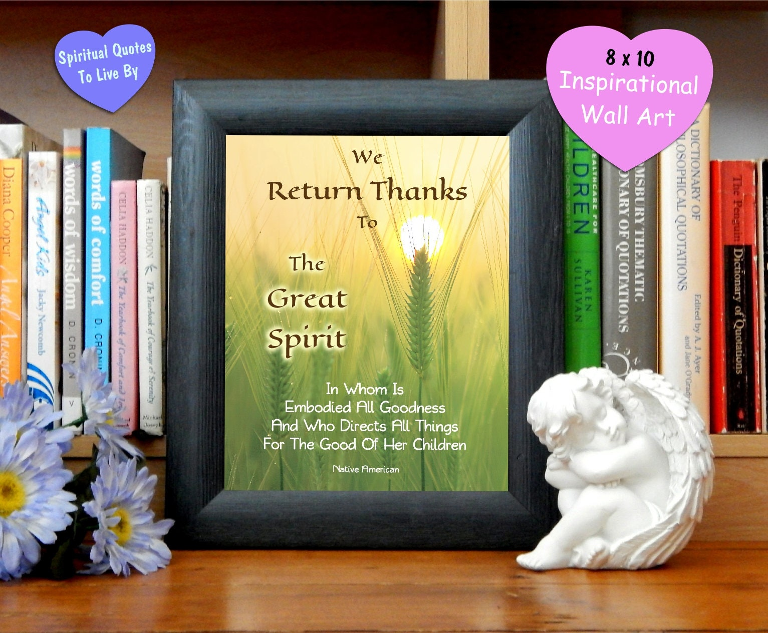 We Return Thanks Native American Thankfulness Print 2